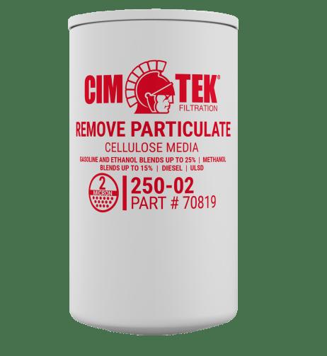 """CimTek 250-02 3/4"""" Particulate Filter"""