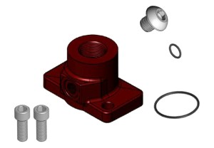 Fill Rite Straight Discharge Flange Kit for 700V Series Pumps