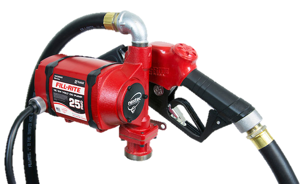 Fill Rite NX3210B Series nextec Continuous Duty Pump, Hose and Nozzle