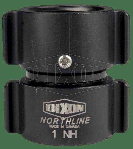 "Dixon 1"" Style N35 Double Female NST Thread Swivel Rocker Lug"