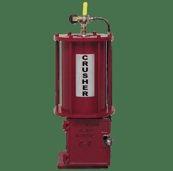 BJE C-6 Pneumatic Oil Filter Crusher
