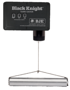 BJE Black Knight Metric Oil Tank Gauge