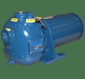"""Gorman-Rupp 81 1/4A3-E.33 3P 1.25"""" Self Priming Centrifugal Pump"""