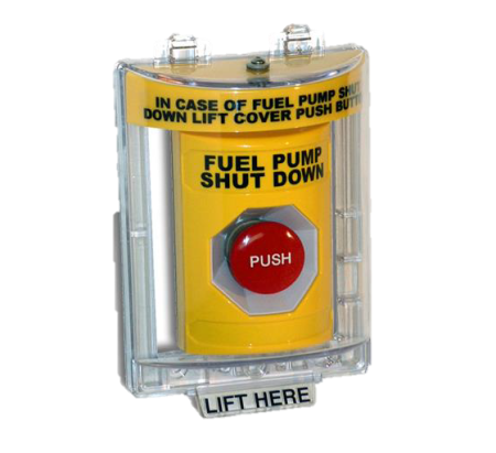 Power Integrity Outdoor Rated Emergency Stops
