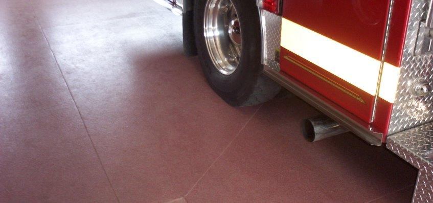 Fire House Epoxy Floor