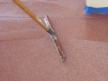 Decorative Quartz Broadcast Epoxy Floor