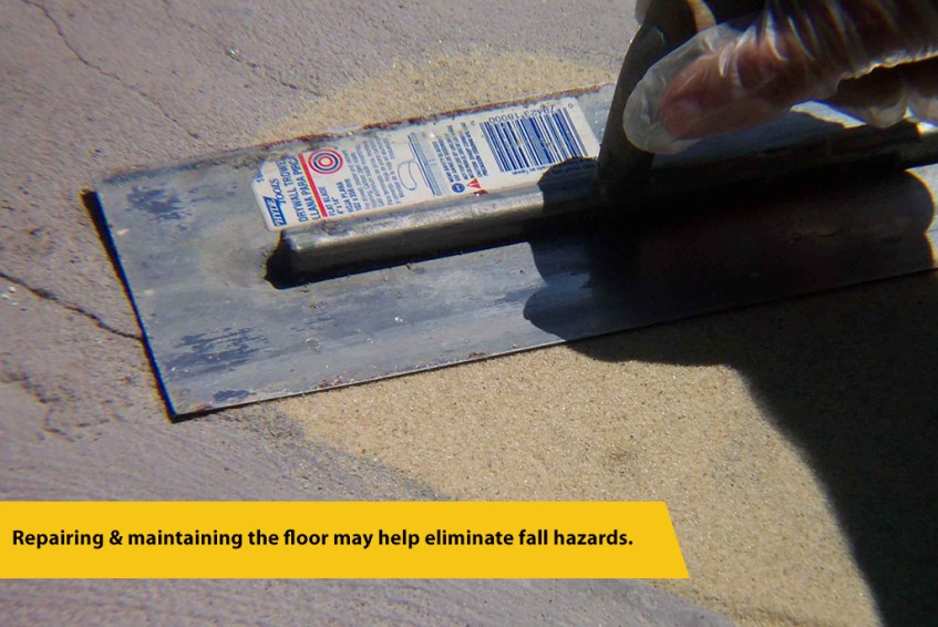Epoxy Mortar Floor Repair