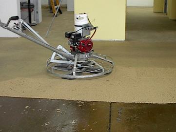 Epoxy Mortar Floor Resurfacer, Power Trowel Mortar