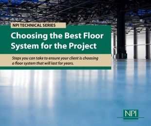 Industrial Floor Coating System Technical Series NPI