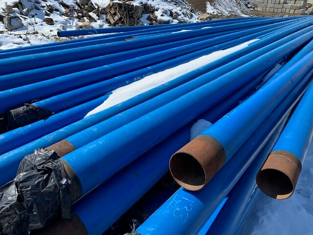 4.5″ Gas Pipes