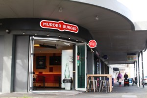 murder burger ponsonby 3d fabricated lightbox signage tavern led illuminated