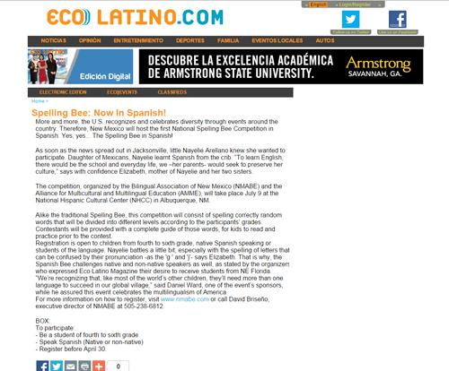 Spelling Bee: Now In Spanish! – nationalspanishspellingbee.com