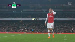 Granit Xhaka Tells Arsenal Fans To 'F*** Off' After Being Substituted Against Crystal Palace