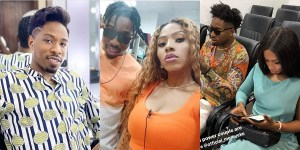 BBNaija: Ike Shuts Down Troll For Telling His Friend To Hook Mercy Up With Another Guy (Video)