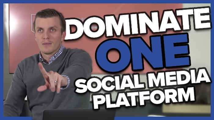 Dominate on one platform
