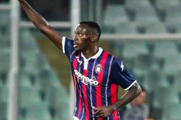 Crotone rejects Udinese offer for Simy Nwankwo