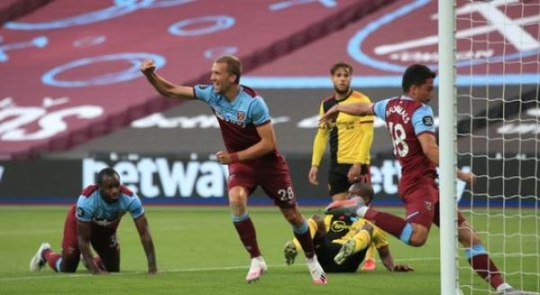 West Ham claims vital win over Watford