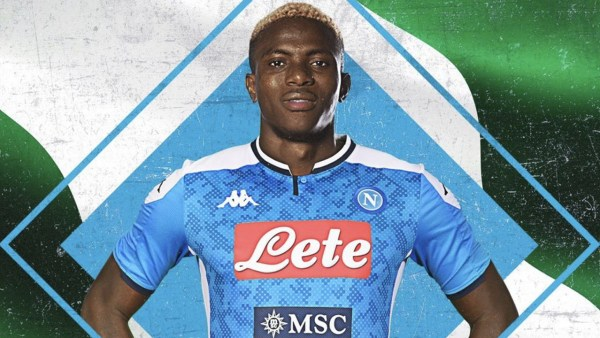 I was convinced to part with €70m for Osimhen – Napoli president