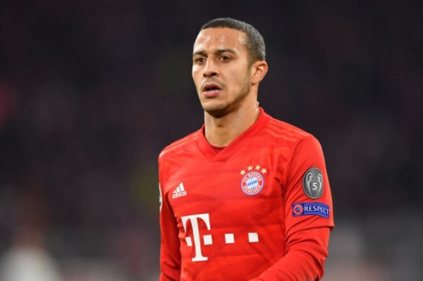 Thiago Alcantra: Liverpool reaches agreement with Bayern for Spanish star
