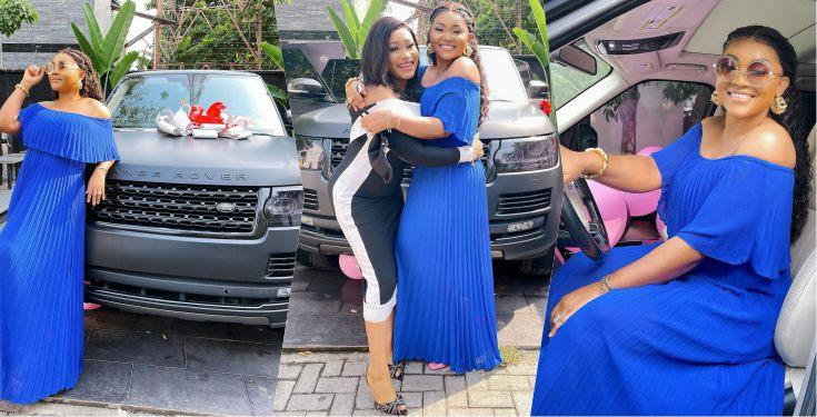Actress Mercy Aigbe gets a brand new Range Rover as a birthday gift