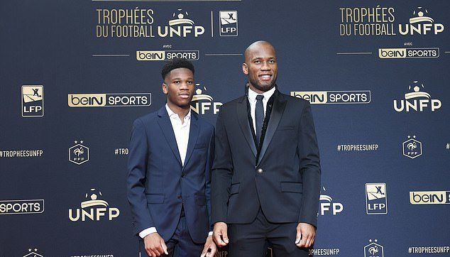 Didier Drogba's son Isaac, 20, signs for Italian fourth-tier minnows Folgore Caratese