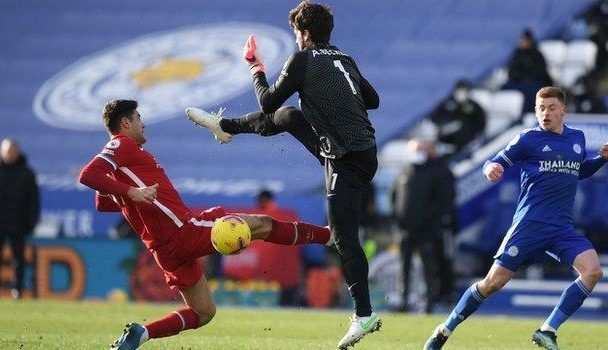 Leicester City beat Liverpool at King Power Stadium.