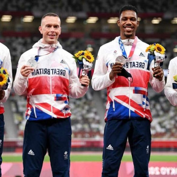 Team GB set to be STRIPPED of Tokyo 2020 4x100m medal