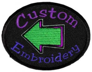 custom embroidery by National Sportswear