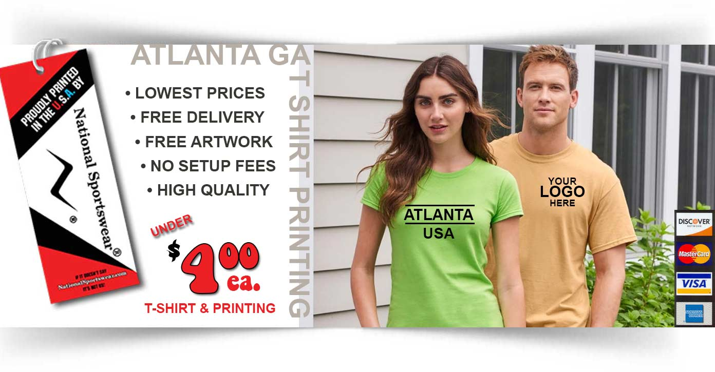 Atlanta t-shirt printer