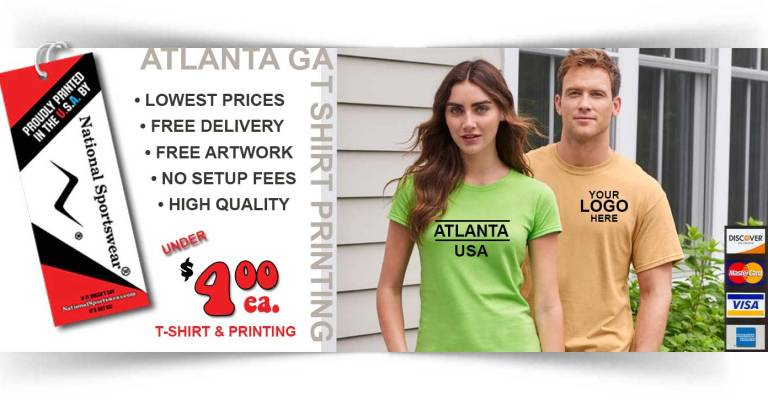 Atlanta t-shirt printer