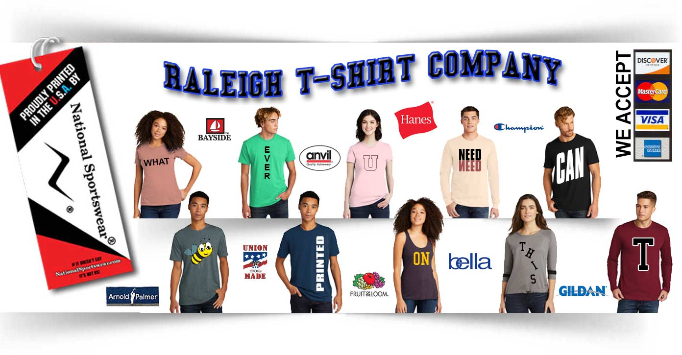 Raleigh t-shirt company