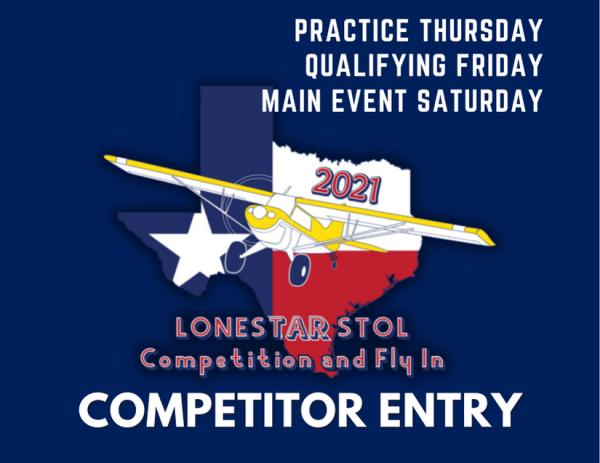 Lonestar STOL Competitor Ticket
