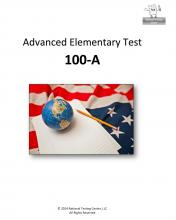 Advanced Elementary Test