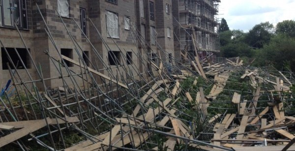 scaffold collapse braintree