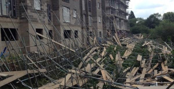 scaffold collapse braintree