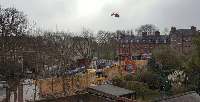 Man dies in explosion