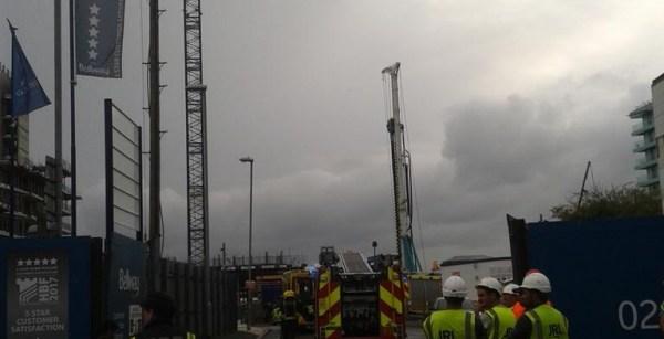 Worker killed on Belway homes site