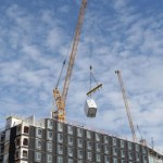 Tower crane chain failure on site
