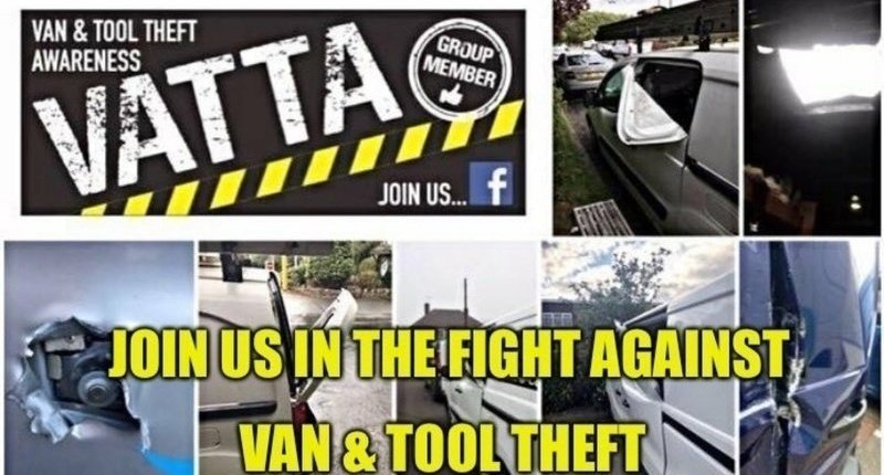 Petition to stop van tool theft