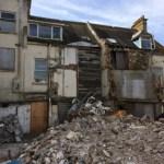 Property where asbestos was found