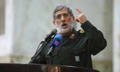 Iran's new Quds leader vows 'manly' revenge for Soleimani killing