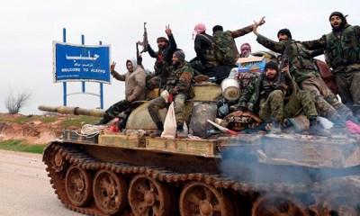 Syrian army strengthens Aleppo grip before Russia-Turkey talks