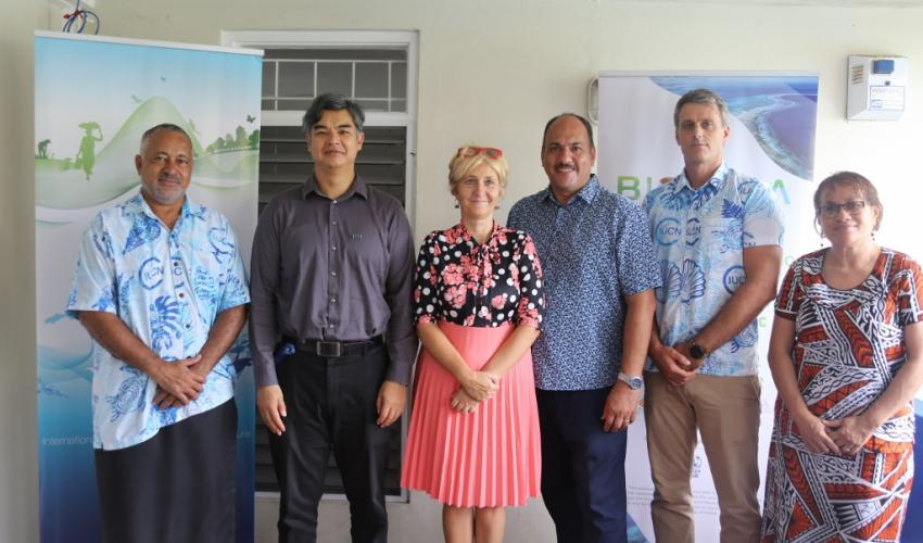 BIOPAMA awards National Trust of Fiji 68K Euro grant for the conservation of Fiji's protected areas