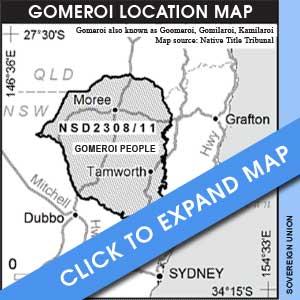 Gomeroi Map