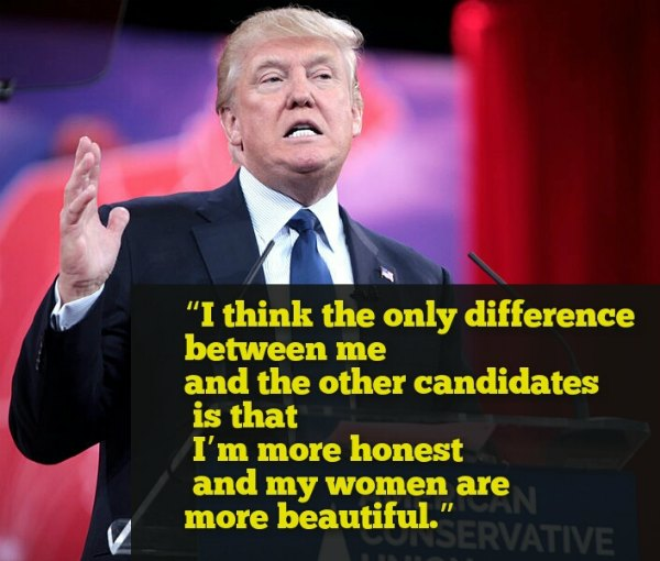 Donald Trump Quotes on Women, Immigration, America & Politics!