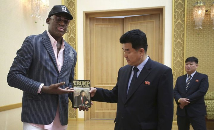 Dennis Rodman will be in Singapore for American North Korean Summit