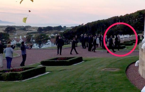 Trump Security Scare As Paraglider Swoops In Within Yards Of Elite Snipers