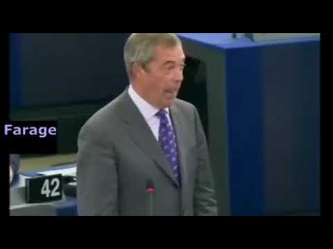 Nigel Farage Exposes Jean-Claude Juncker BIG TIME! President of the European Commission Totally Slammed (Video)
