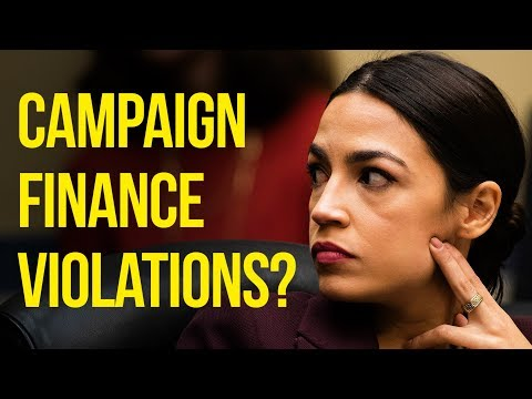 Ocasio-Cortez Faces Allegations of Campaign Finance Violations