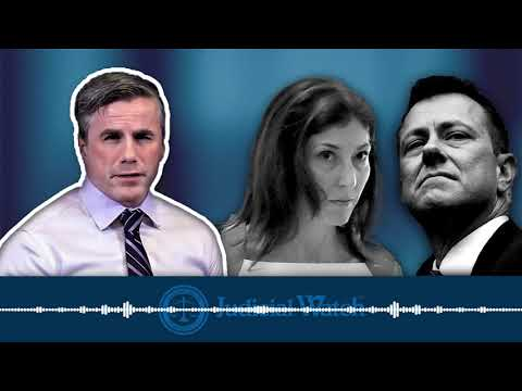 Tom Fitton: Strzok/Page Personal Relationship & Anti-Trump Animus INFECTED Mueller Special Counsel